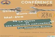 Conférence le stress et ses solutions naturelles