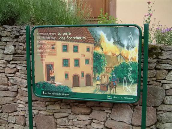Heritage footpath of Saint Pierre Bois