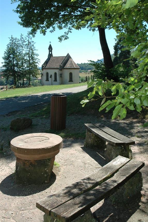 Aire de pique-nique du klosterwald à Villé
