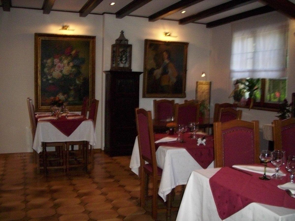 Restaurant kuentz bix altkirch for Restaurant altkirch