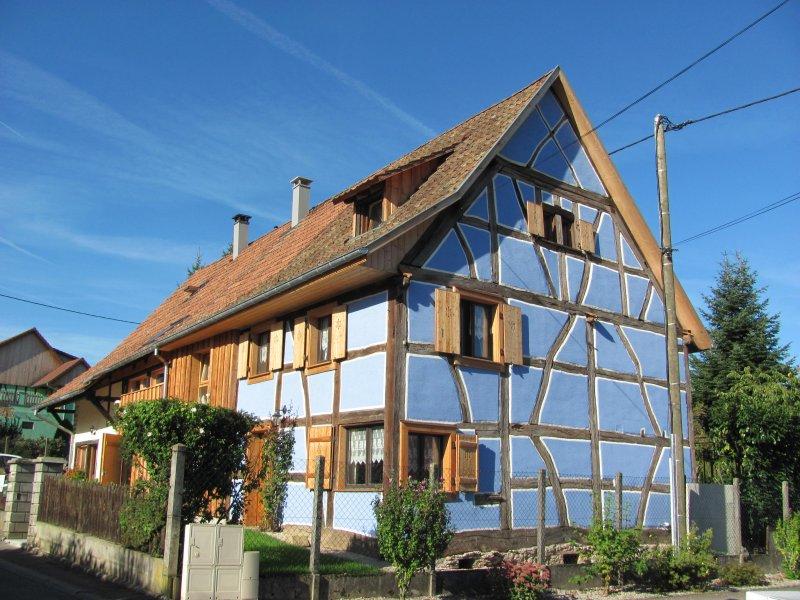 Gte la maison bleue schwoben - Chanson une maison bleue ...