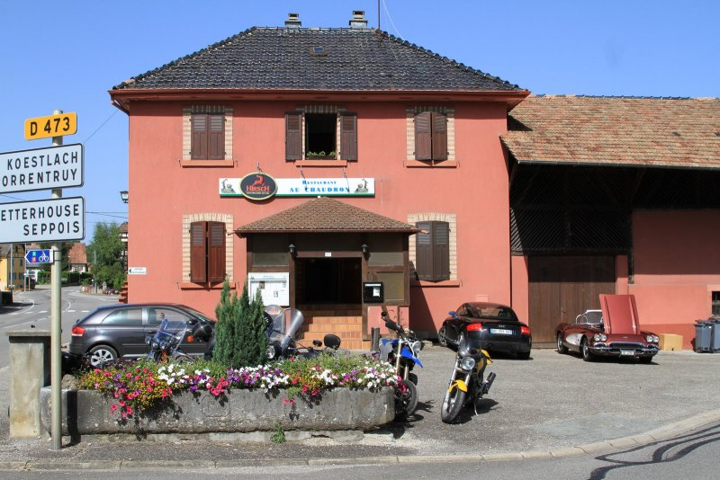 Restaurant au chaudron vieux ferrette for Restaurant altkirch