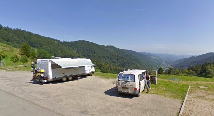 Aire De Stationnement Pour Camping Car Sainte Marie Aux