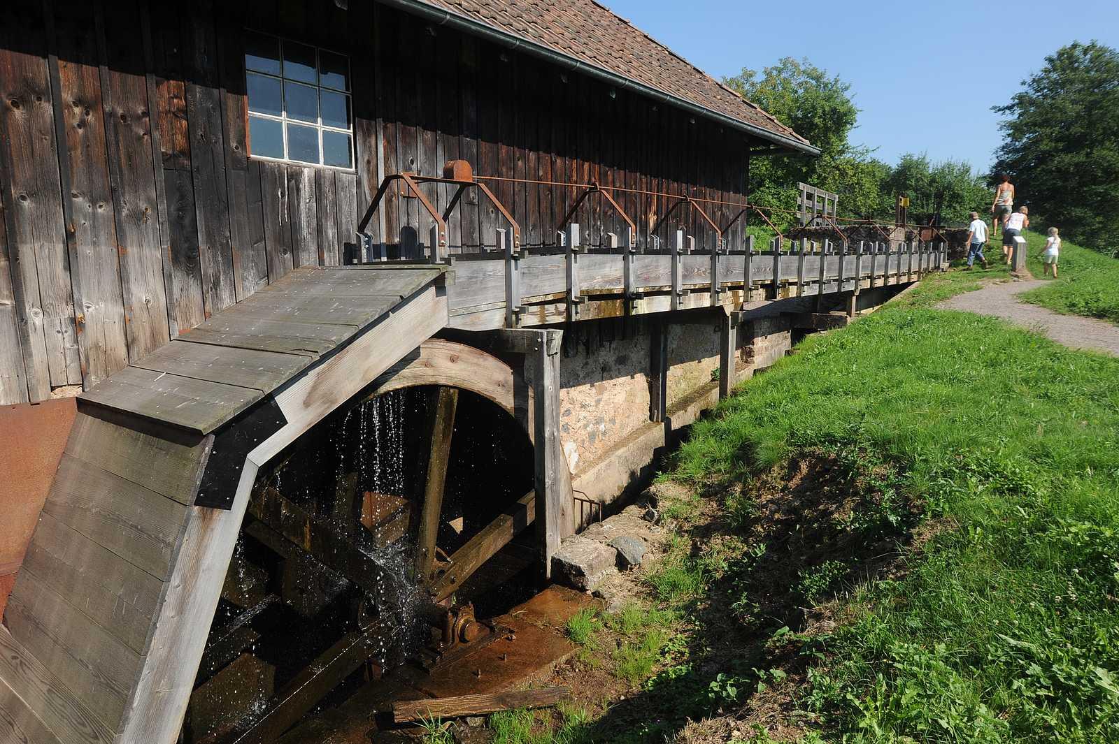 The Haut-Fer sawmill