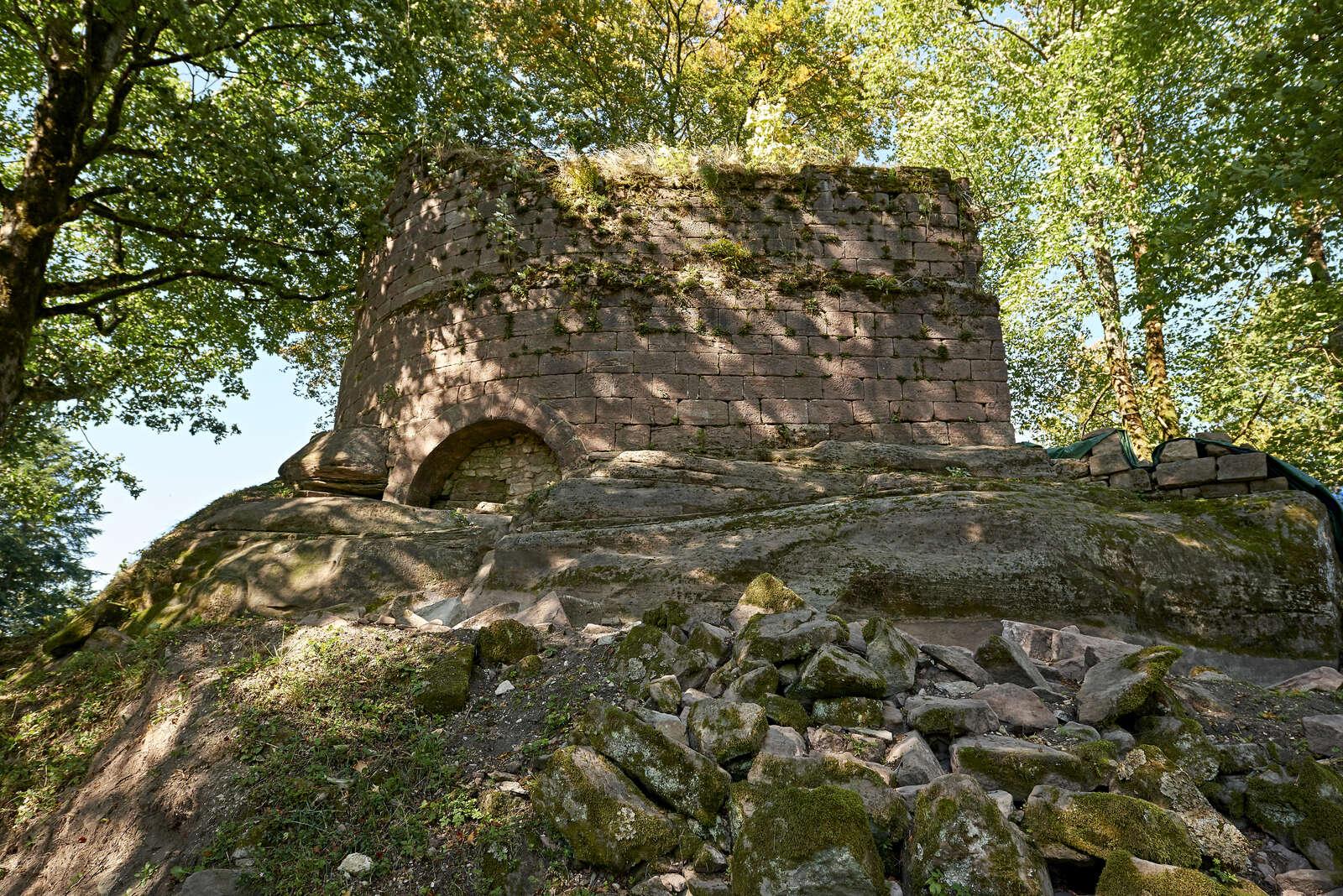 Burg der Grafen zu Salm