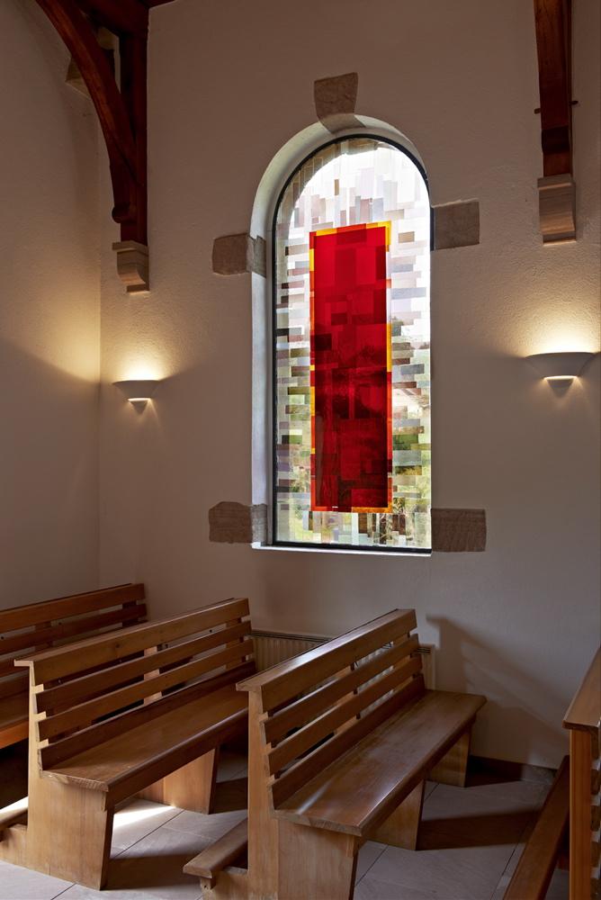 Les vitraux de la chapelle de champenay - Office tourisme la chapelle d abondance ...