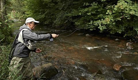 Pêche en rivière dans la Vallée de la Bruche
