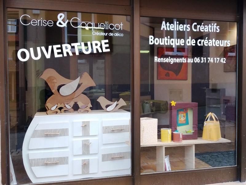 Atelier-boutique Cerise & coquelicot