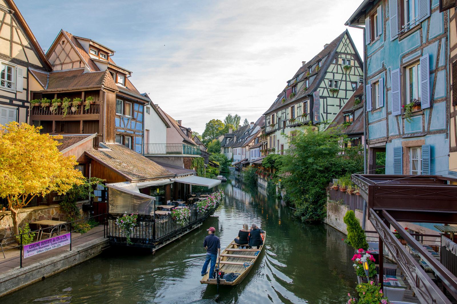Office de tourisme de colmar en alsace sweet narcisse promenades en barques - Colmar office de tourisme ...