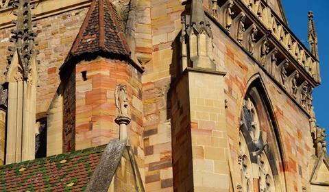 La collégiale Saint Martin de Colmar