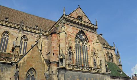 Détails de la collégiale Saint-Martin, détails (OT Colmar)