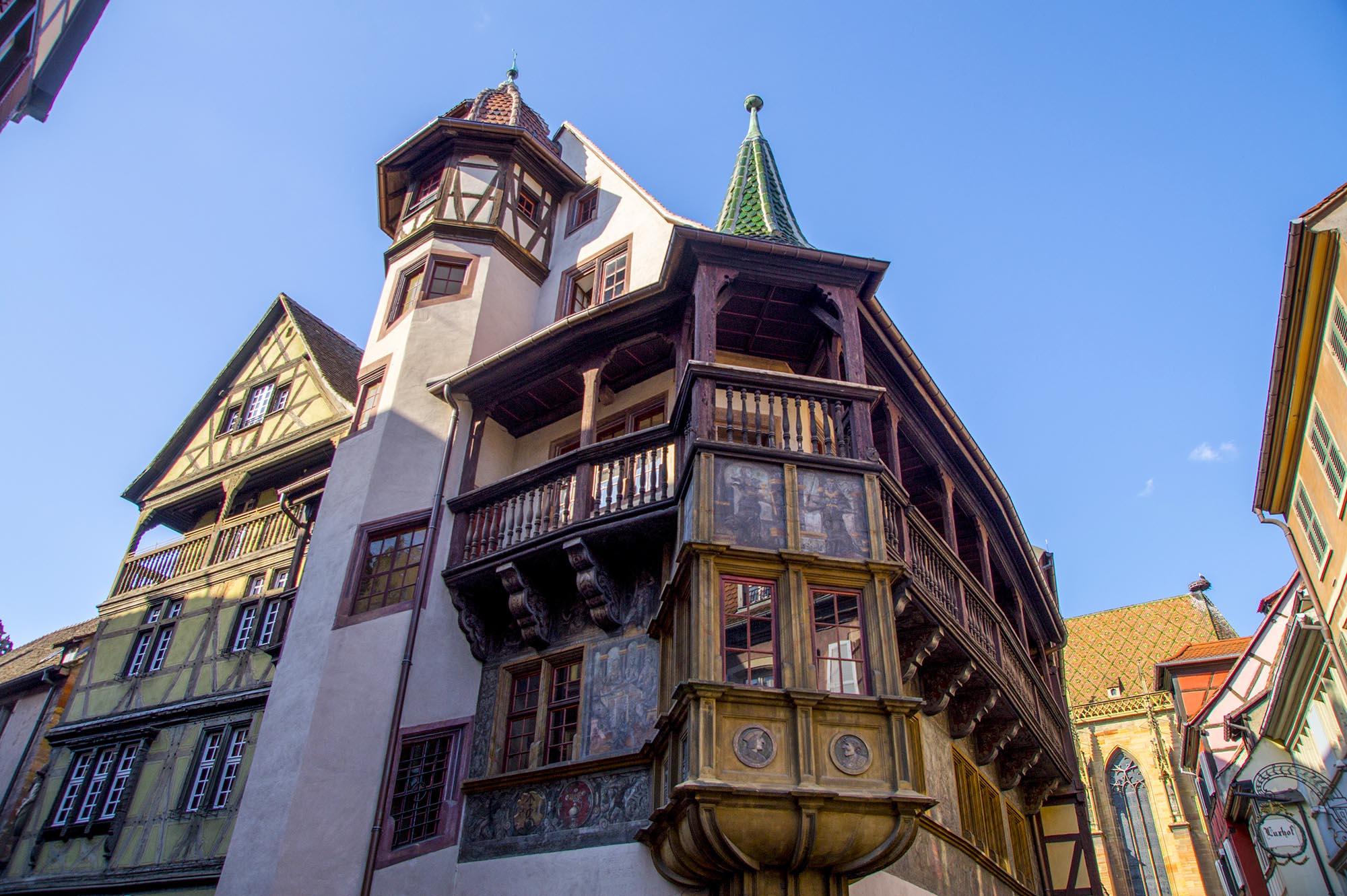 Office de tourisme de colmar en alsace maison pfister for Colmar pictures