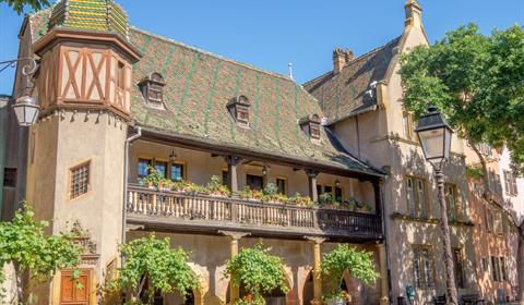 Koïfhus et place de l'Ancienne Douane (OT Colmar)