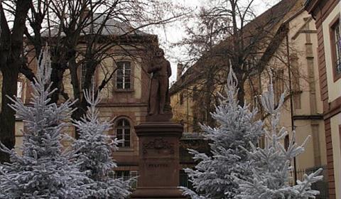 Parc Pfeffel à Noël (OT Colmar)