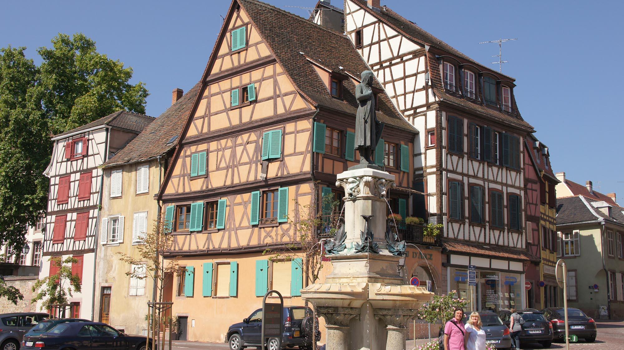 Statue Roesselmann (OT Colmar)