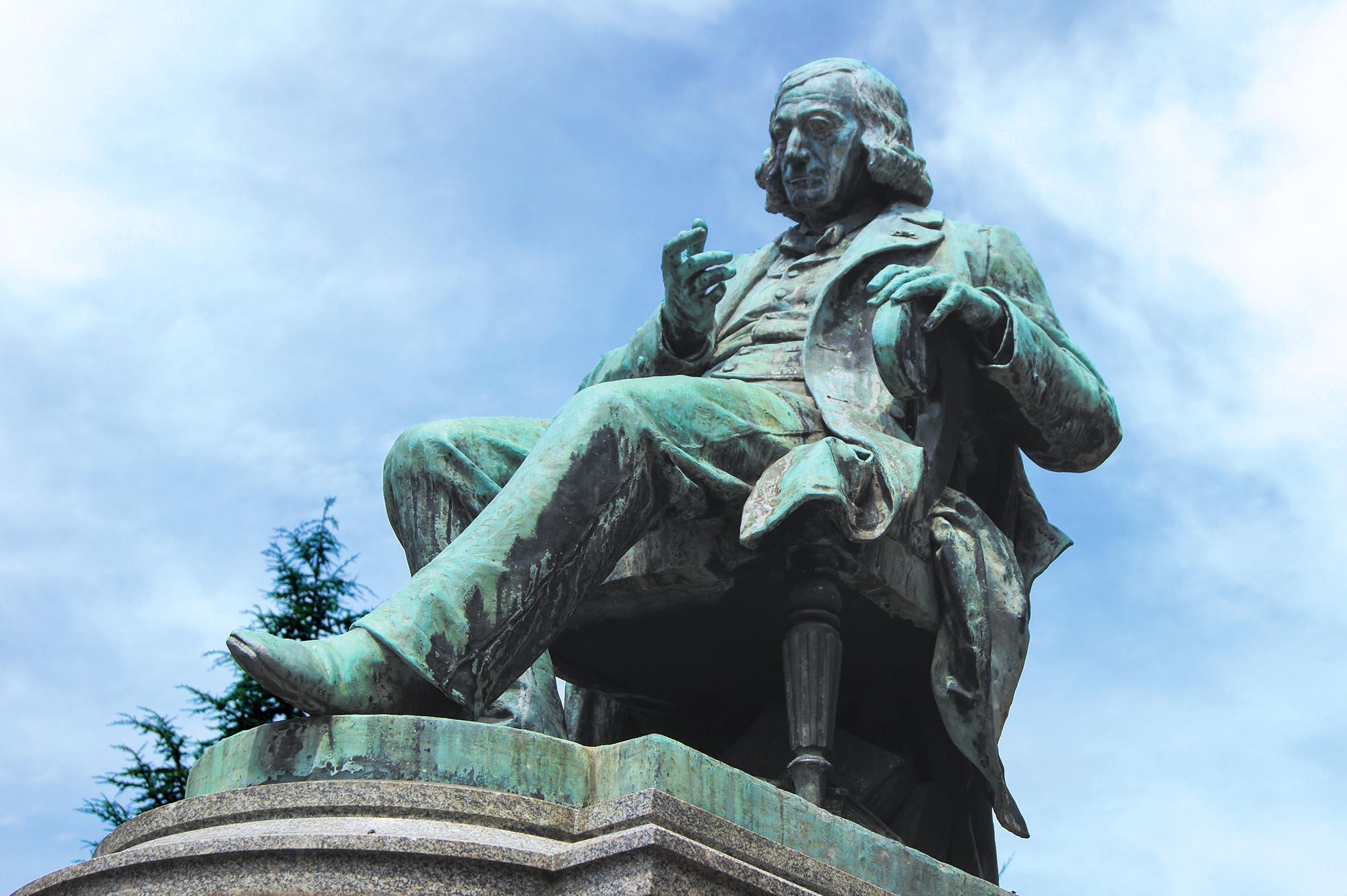 Statue de Gustave Adolphe Hirn (OT Colmar)