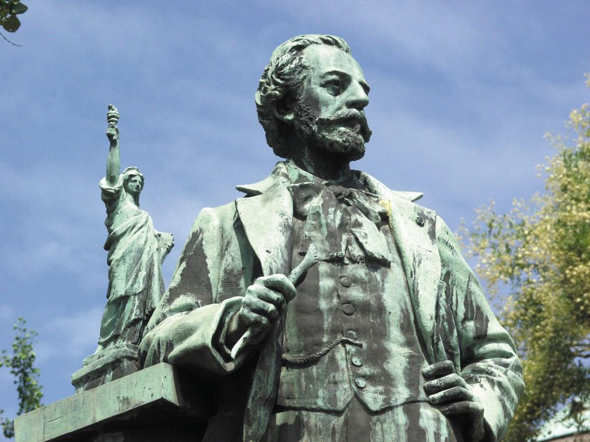 Памятник Бартольди. Памятники Кольмара
