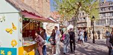 Colmar fête le Printemps - Marché de Pâques sur la Place des Dominicains