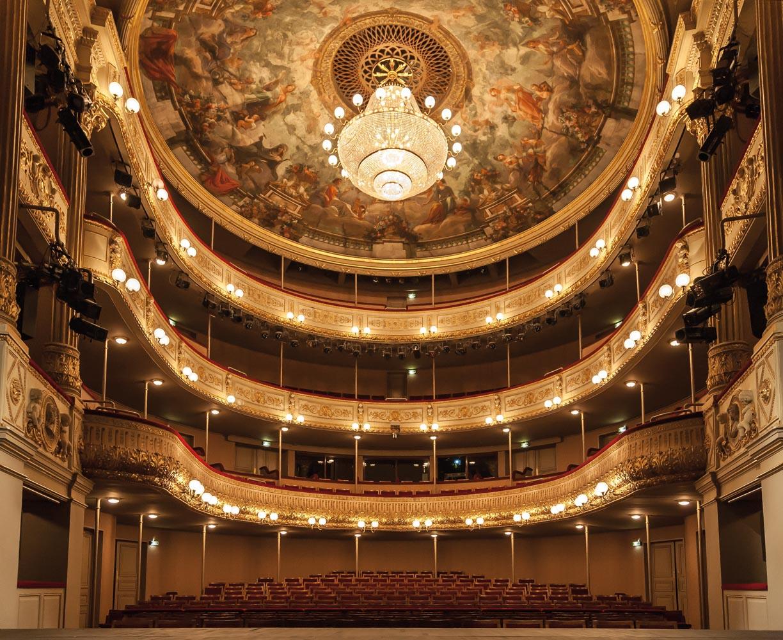Intérieur du théâtre municipal