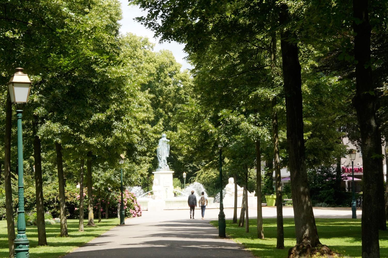 Parc du Champ de Mars-fontaine Bruat (OT Colmar)