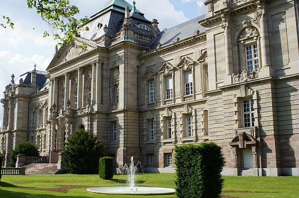 Cour d'appel de Colmar, à l'entrée sud-ouest du parc du Château d'eau (OT Colmar)