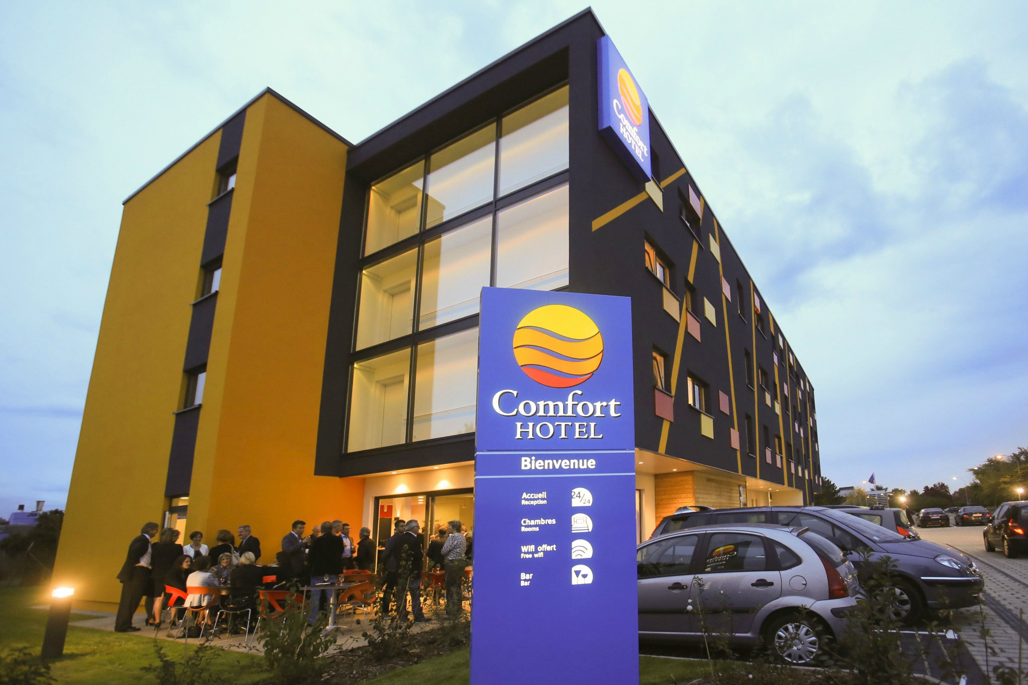 Comfort hotel expo colmar for Hotels colmar