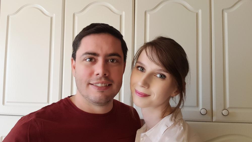 Cathy et Alexandre, créateurs de la marque.