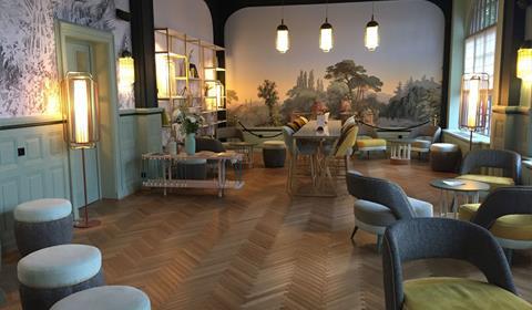 Best Western Grand Hotel Bristol, Colmar, Alsace / www.grand-hotel-bristol.com (Brasserie)