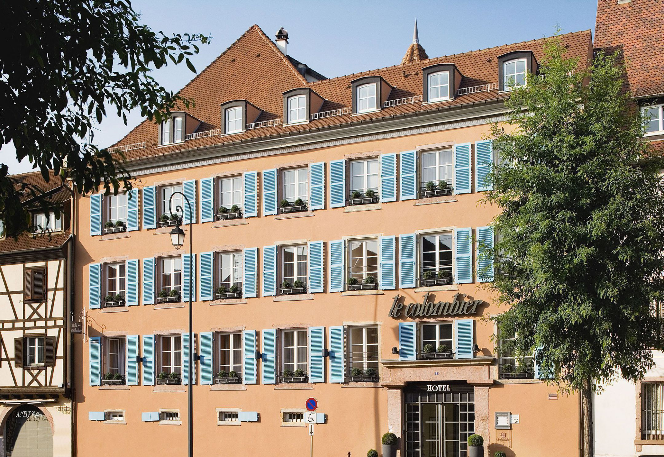 H tel le colombier for Hotels colmar