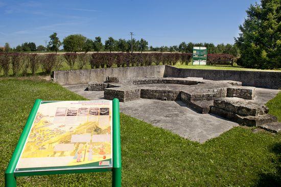 Les vestiges romains de Mackwiller