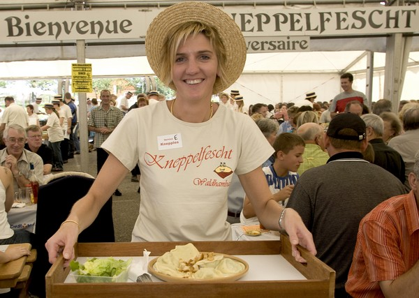 Kneppelfescht : fête des ravioles farcies