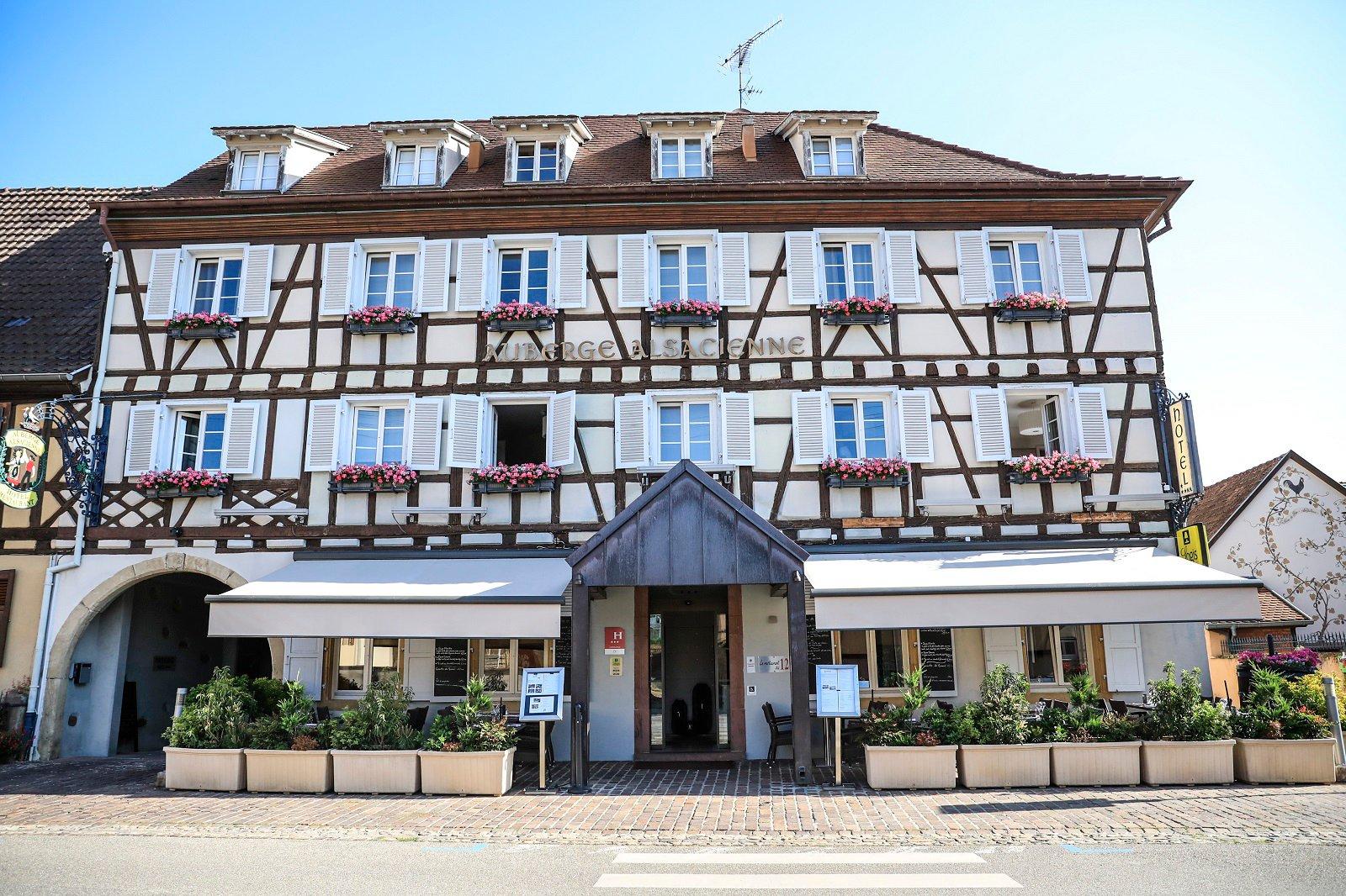 Office de tourisme de colmar en alsace h tel restaurant l 39 auberge alsacienne - Office du tourisme eguisheim ...