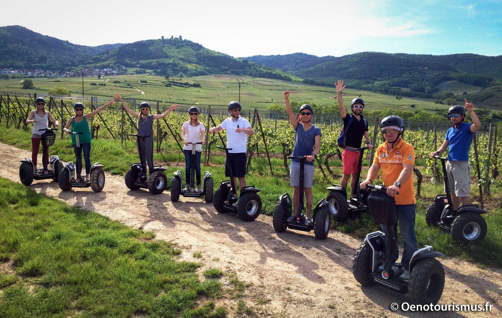 Office de tourisme de colmar en alsace oenotourismus segway dans le vignoble alsacien - Office de tourisme eguisheim ...