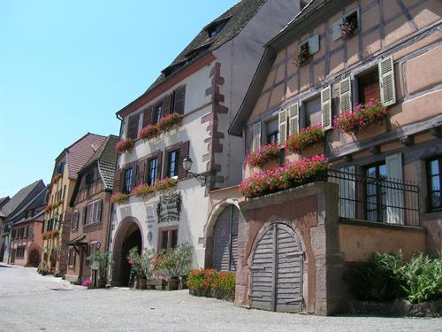 Gueberschwihr, Pays de Rouffach, Vignobles et Châteaux, Haut-Rhin, Alsace