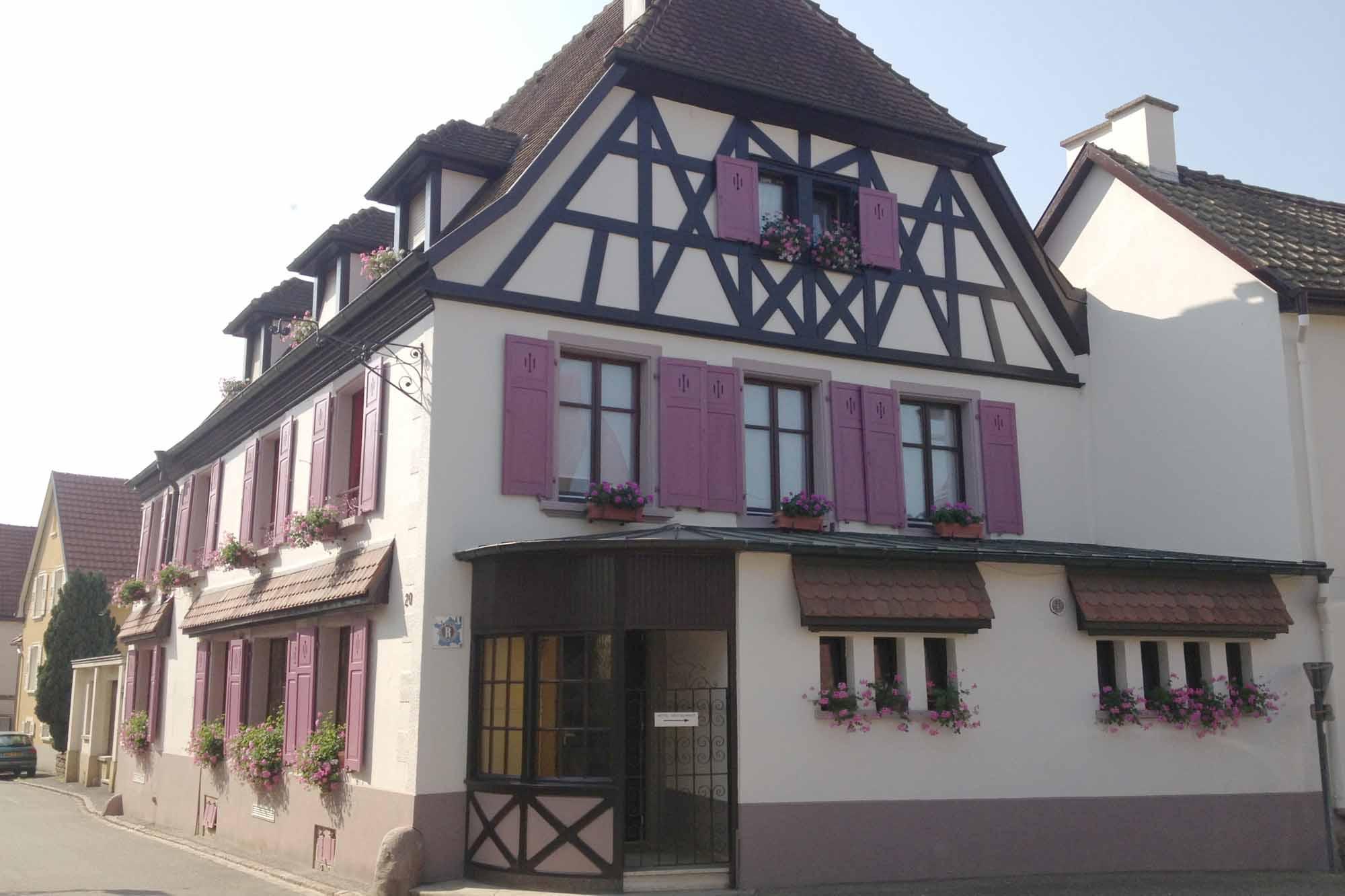 Office de tourisme de colmar en alsace auberge du cheval blanc - Office du tourisme le blanc ...