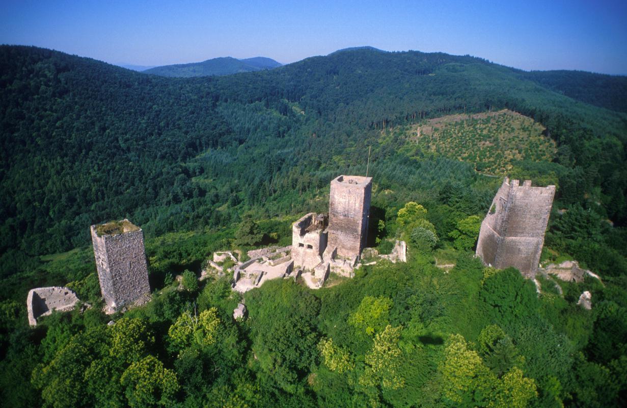 Découverte des 5 châteaux