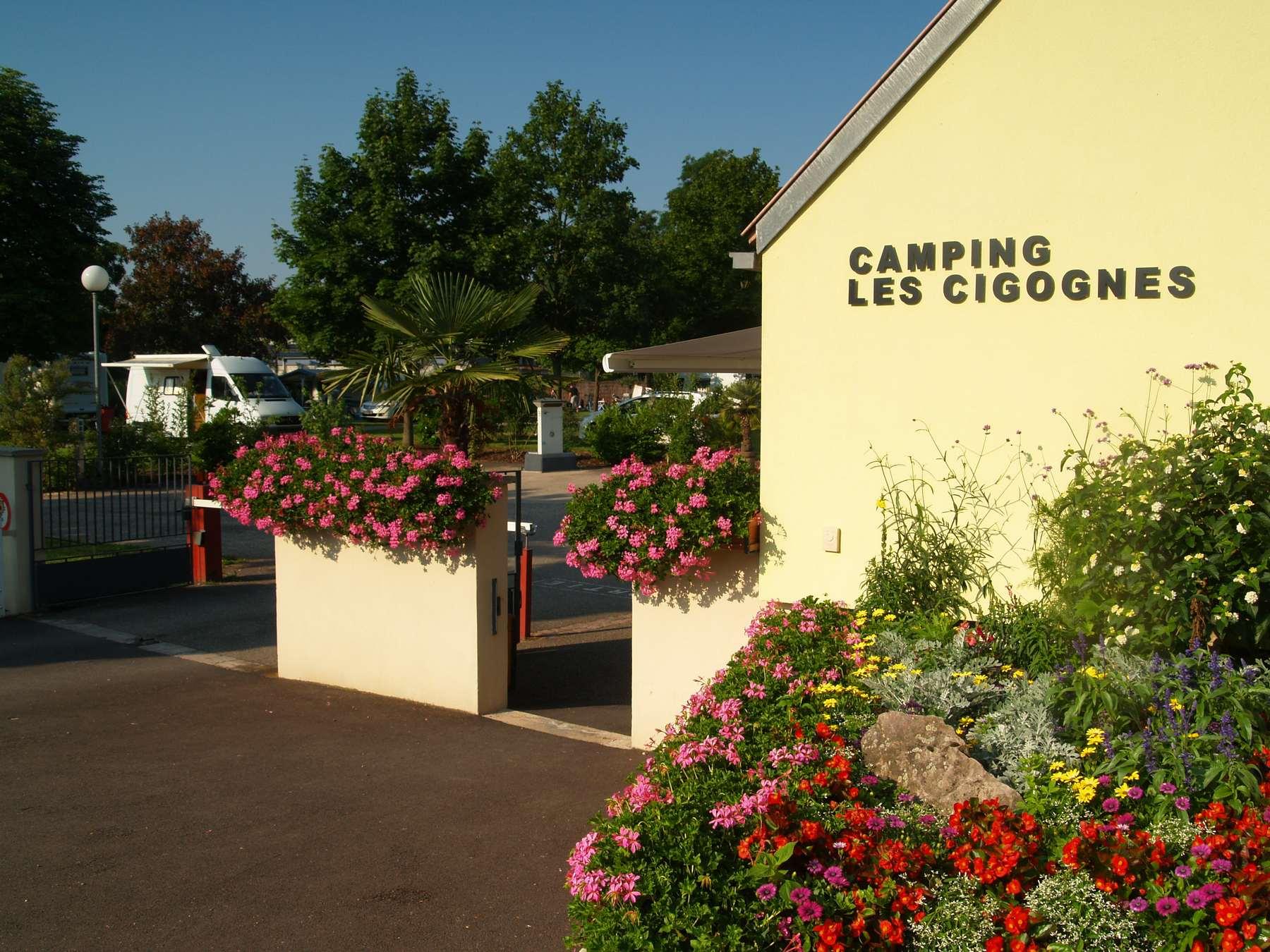 camping municipal cigognes