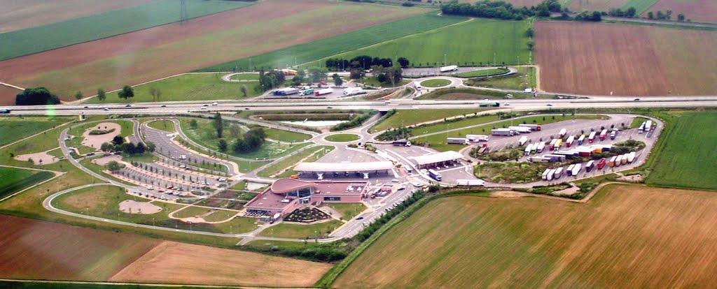Haut-Koenigsbourg Entsorgungs-Station f�r Wohnmobile