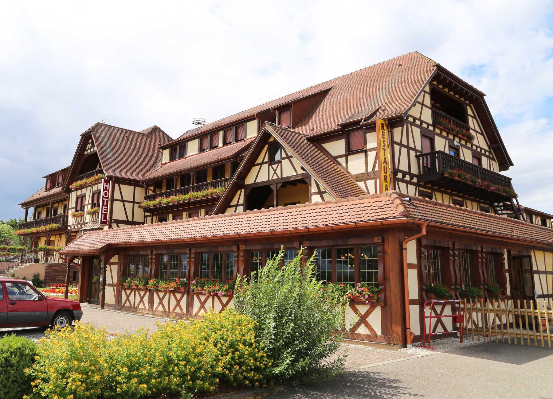 Hôtel-Restaurant Extérieur