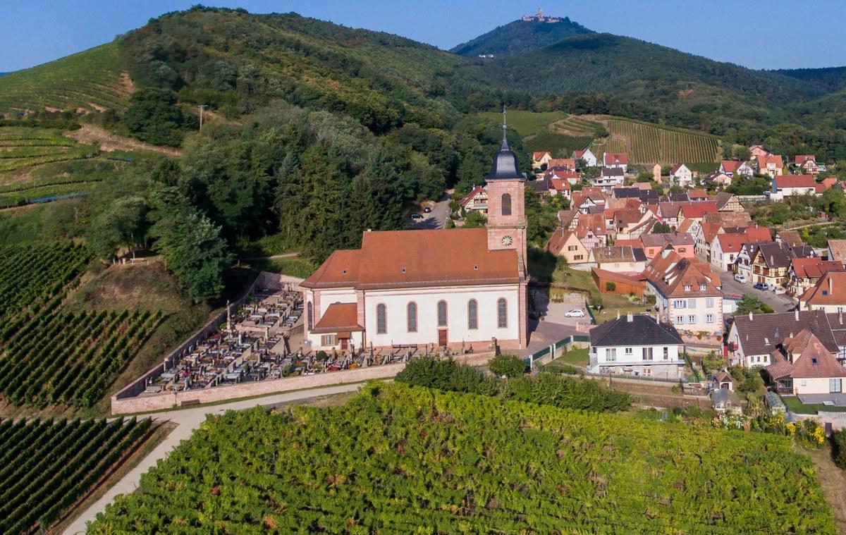 Eglise saint maurice en alsace 67600 orschwiller - Bourg saint maurice office de tourisme ...