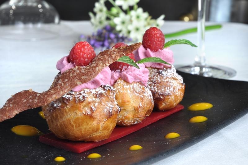 Desserts restaurant de l'hôtel les Violettes Thierenbach Soultz Jungholtz