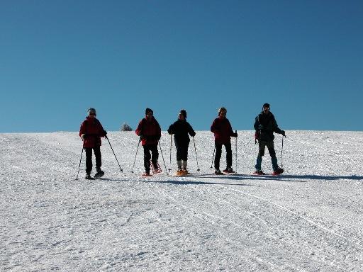 Sortie découverte raquettes à neige au Markstein