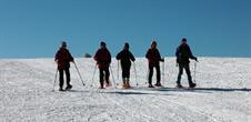 Winterwanderung auf Schneeschuhen auf dem Markstein