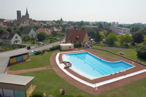 Piscine municipale, Rouffach, Pays de Rouffach Vignobles et Châteaux, Haut-Rhin, Alsace
