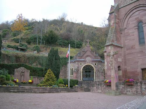 Eglise Saint-Pantaléon, Gueberschwihr, Canton de Rouffach, Haut-Rhin, Alsace