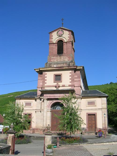 Eglise Saint-Blaise, Westhalten, Canton de Rouffach, Haut-Rhin, Alsace