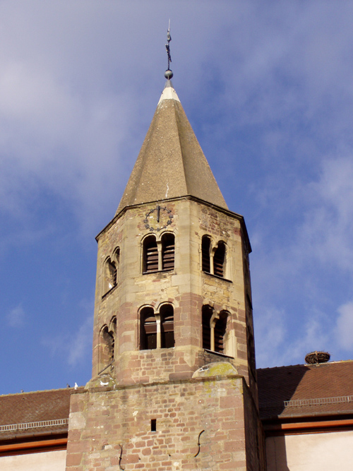 Eglise Sainte-Agathe Gundolsheim, Canton de Rouffach, Haut-Rhin, Alsace (© Mairie de Gundolsheim)