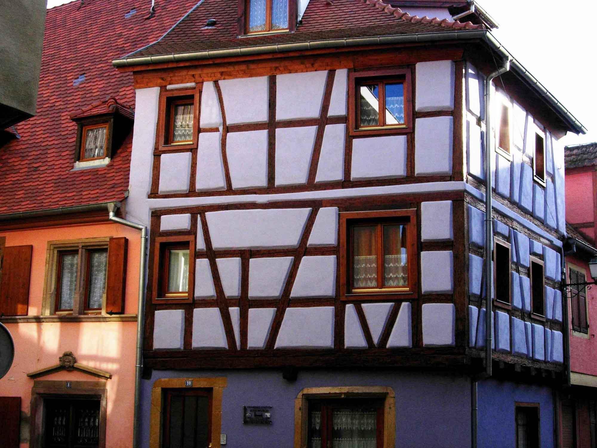 Meublé Bernard Schreiber, Rouffach, Pays de Rouffach, Vignobles et Châteaux, Haut-Rhin, Alsace