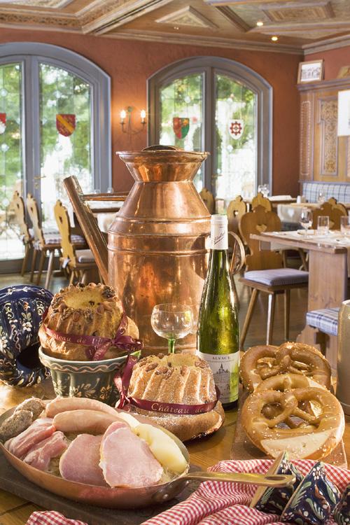 Gastronomie, Pays de Rouffach, Vignobles et Châteaux, Haut-Rhin, Alsace (Grandes Etapes Françaises)