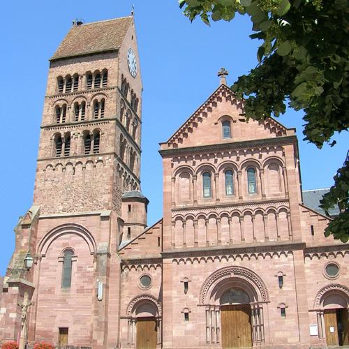 Eglise Saint-Pantaléon, Gueberschwihr, Pays de Rouffach, Vignobles et Châteaux, Haut-Rhin, Alsace